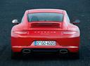 Фото авто Porsche 911 991, ракурс: 180 цвет: красный