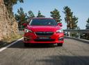 Фото авто Subaru Impreza 5 поколение,  цвет: красный