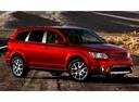 Фото авто Dodge Journey 1 поколение [рестайлинг], ракурс: 315 цвет: красный