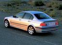 Фото авто BMW 3 серия E46, ракурс: 135 цвет: серебряный