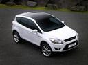 Фото авто Ford Kuga 1 поколение, ракурс: 315 цвет: белый