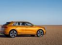 Фото авто Audi Q8 1 поколение, ракурс: 270 цвет: оранжевый