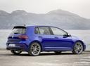 Фото авто Volkswagen Golf 7 поколение [рестайлинг], ракурс: 225 цвет: синий