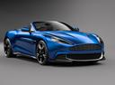 Фото авто Aston Martin Vanquish 2 поколение, ракурс: 315 цвет: синий