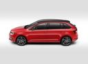 Фото авто Skoda Rapid 3 поколение [рестайлинг], ракурс: 90 - рендер цвет: красный
