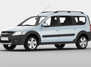 Фото авто ВАЗ (Lada) Largus 1 поколение, ракурс: 45 цвет: белый