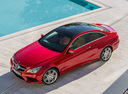 Фото авто Mercedes-Benz E-Класс W212/S212/C207/A207 [рестайлинг], ракурс: сверху цвет: красный
