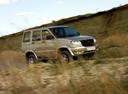 Фото авто УАЗ Patriot 1 поколение, ракурс: 315 цвет: бежевый