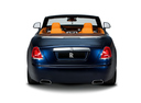 Фото авто Rolls-Royce Dawn 1 поколение, ракурс: 180 цвет: синий