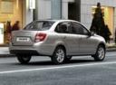 Фото авто ВАЗ (Lada) Granta 1 поколение [рестайлинг], ракурс: 225 цвет: бежевый
