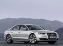 Фото авто Audi A8 D4/4H [рестайлинг], ракурс: 315 цвет: серебряный