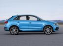 Фото авто Audi Q3 8U [рестайлинг], ракурс: 270 цвет: синий