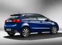Фото авто Kia Rio 3 поколение [рестайлинг], ракурс: 225 цвет: синий