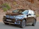 Фото авто BMW X5 F15, ракурс: 45 цвет: коричневый
