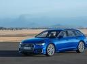 Фото авто Audi A6 C8, ракурс: 45 цвет: синий