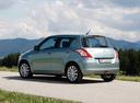Фото авто Suzuki Swift 4 поколение, ракурс: 135 цвет: зеленый