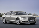 Фото авто Audi A8 D4/4H [рестайлинг], ракурс: 315 цвет: бежевый
