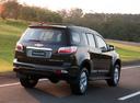 Фото авто Chevrolet TrailBlazer 2 поколение, ракурс: 225 цвет: черный