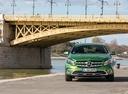 Фото авто Mercedes-Benz GLA-Класс X156 [рестайлинг],  цвет: зеленый