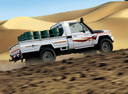Фото авто Toyota Land Cruiser J70 [3-й рестайлинг], ракурс: 270