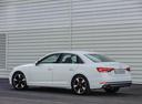 Фото авто Audi A4 B9, ракурс: 135 цвет: белый