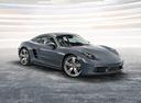 Фото авто Porsche Cayman 982, ракурс: 315 цвет: мокрый асфальт