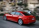 Фото авто Audi A6 4G/C7, ракурс: 135 цвет: красный