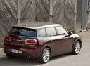Фото авто Mini Clubman 2 поколение, ракурс: 225 цвет: бордовый