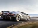 Фото авто Lamborghini Centenario 1 поколение, ракурс: 225 цвет: серебряный
