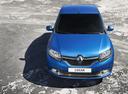Фото авто Renault Logan 2 поколение,  цвет: синий