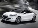 Фото авто Peugeot RCZ 1 поколение [рестайлинг], ракурс: 45 цвет: белый