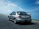 Фото авто Subaru Impreza 2 поколение [2-й рестайлинг], ракурс: 135 цвет: серебряный