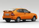 Фото авто ВАЗ (Lada) Priora 1 поколение [рестайлинг], ракурс: 225 цвет: оранжевый