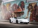 Фото авто Lamborghini Huracan 1 поколение, ракурс: 315 цвет: белый