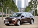 Фото авто Mazda 3 BL [рестайлинг], ракурс: 45 цвет: коричневый