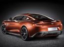 Фото авто Aston Martin Vanquish 2 поколение, ракурс: 135 - рендер цвет: оранжевый