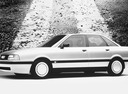 Фото авто Audi 80 8A/B3, ракурс: 90 цвет: белый