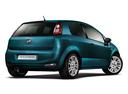 Фото авто Fiat Punto 3 поколение [2-й рестайлинг], ракурс: 225 цвет: бирюзовый