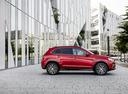 Фото авто Mitsubishi ASX 1 поколение [2-й рестайлинг], ракурс: 270 цвет: красный