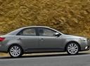 Фото авто Kia Cerato 2 поколение, ракурс: 270 цвет: серый