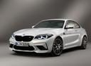 Фото авто BMW M2 F87 [рестайлинг], ракурс: 45 цвет: белый