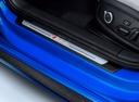 Фото авто Audi RS 4 B9, ракурс: элементы интерьера цвет: голубой