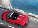 Фото авто Audi R8 1 поколение [рестайлинг], ракурс: сверху цвет: красный