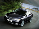 Фото авто Ford Mondeo 3 поколение [рестайлинг], ракурс: 45 цвет: черный