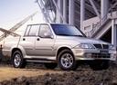 Фото авто SsangYong Musso 1 поколение [рестайлинг], ракурс: 45
