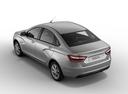 Фото авто ВАЗ (Lada) Vesta 1 поколение, ракурс: 135 - рендер цвет: серебряный