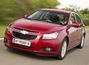 Фото авто Chevrolet Cruze J300,  цвет: красный