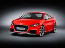 Фото авто Audi TT 8S, ракурс: 45 - рендер цвет: красный