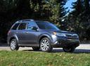 Фото авто Subaru Forester 3 поколение [рестайлинг], ракурс: 315 цвет: серый