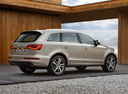 Фото авто Audi Q7 4L [рестайлинг], ракурс: 225 цвет: бежевый